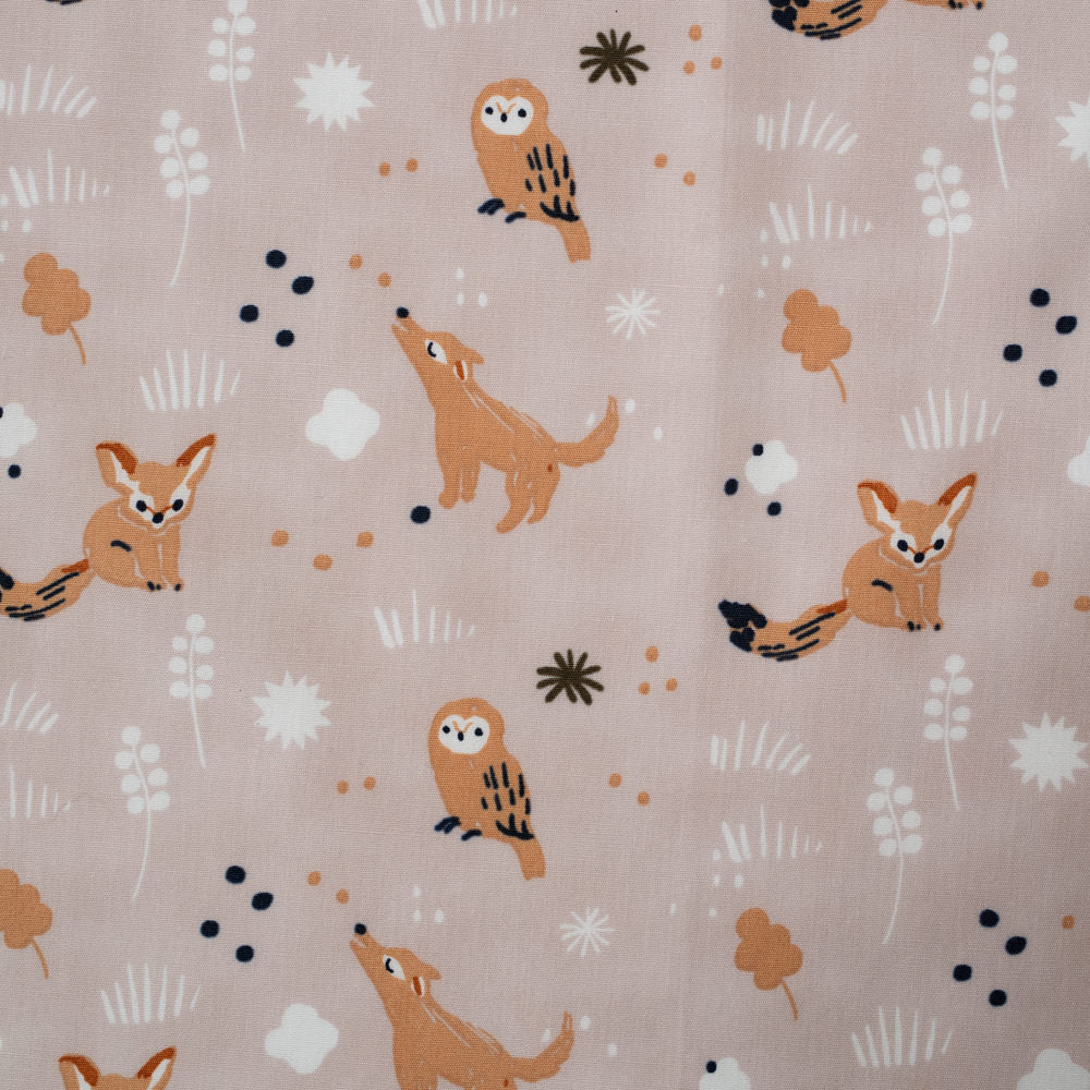 Bedtime Story Heather Poplin - Dreamer - Jenny Ronen - Birch Fabrics half yard - 180 thread count GOTS certified organic quilting cotton