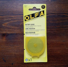 Load image into Gallery viewer, OLFA Rotary Cutter REFILL BLADE 45 mm, 1 refill blade