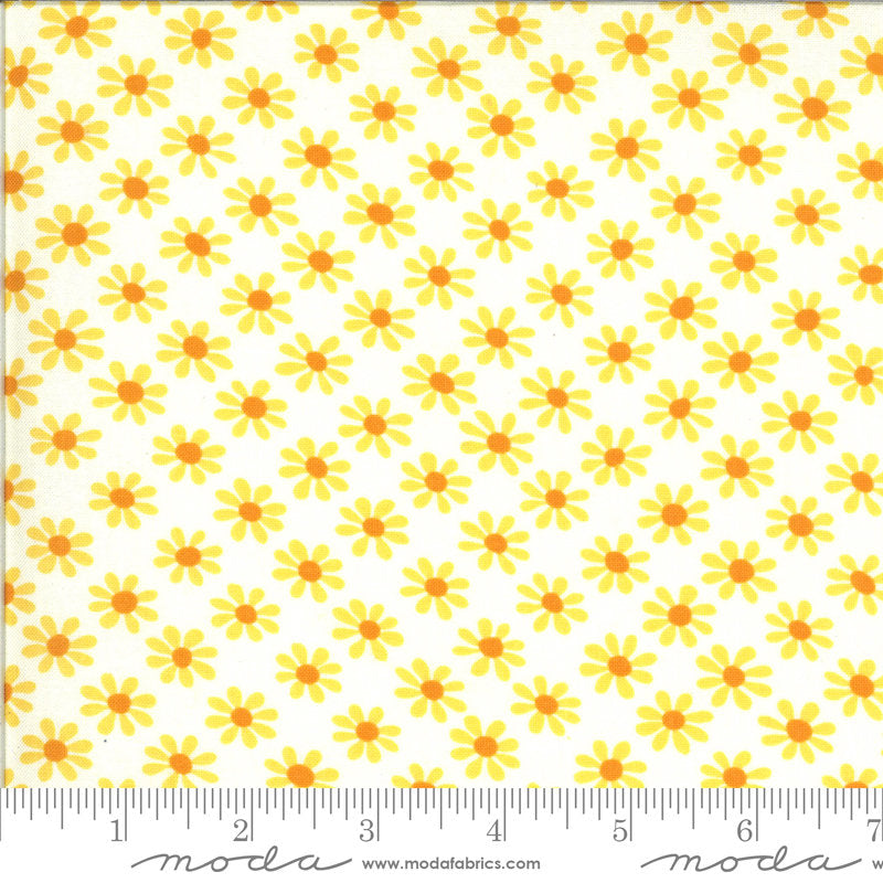PRE-ORDER (ships in OCTOBER) A Blooming Bunch - Cloud 40043 11 - Maureen McCormick - Moda Fabrics half yard fabric - flowers floral
