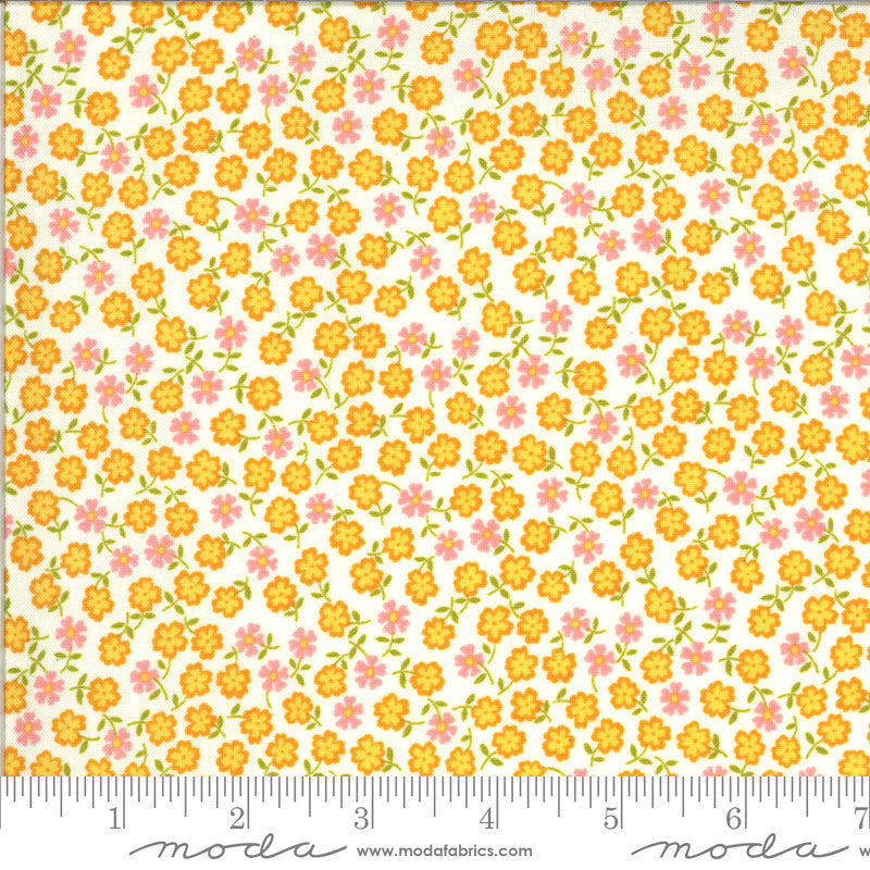 PRE-ORDER (ships in OCTOBER) A Blooming Bunch - Multi 40047 11 - Maureen McCormick - Moda Fabrics half yard fabric - flowers floral