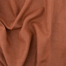 "Load image into Gallery viewer, Apricot Brandy organic linen - Birch Fabrics half yard linen - 56"" width"