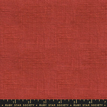 Load image into Gallery viewer, Warp Weft Wovens (Chore Coat)- persimmon - Ruby Star Society - Alexia Abegg - Moda Fabrics half yard fabric