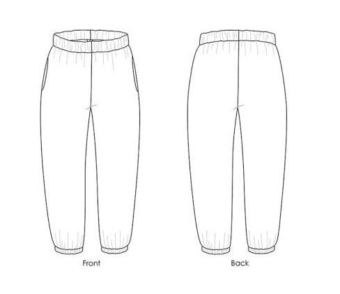Sewing Pattern Luna Pants by Made by Rae, Paper Pattern, Sewing Pattern, Made by Rae Sewing Pattern