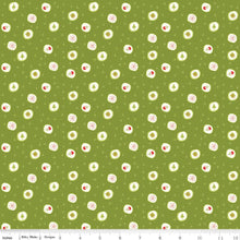 Load image into Gallery viewer, Merry Little Christmas - Candy green - Sandy Gervais - Riley Blake Designs half yard fabric - holiday