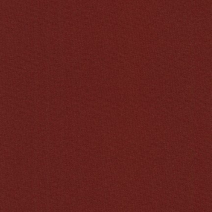 KONA Cotton Solid - Brick - #1042- Robert Kaufman Fabric - 1 yd continuous cut