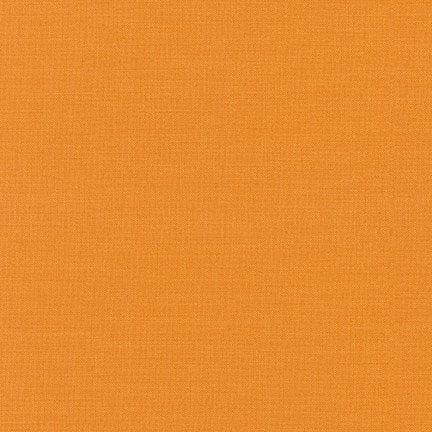 KONA Cotton Solid - Amber - #1479 - Robert Kaufman Fabric - 1 yd continuous cut
