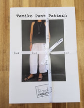 Load image into Gallery viewer, Tamiko Pants Pattern by Tessuti Fabrics, Paper Pattern, Sewing Pattern, Tessuti Fabrics Pattern