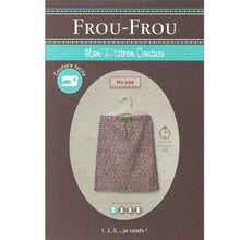 Load image into Gallery viewer, Frou-Frou Skirt Pattern - Paper Pattern - Sewing Pattern - Frou-Frou Pattern - French Style - French Sewing Pattern