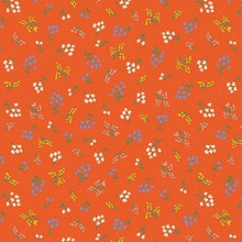 Load image into Gallery viewer, Rifle Paper Co Strawberry Fields - Petites Fleurs - Rifle Red Fabric - Rifle Paper Co. - Rifle Paper Co. Quilting Cotton