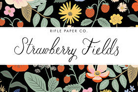 PRE-ORDER - Rifle Paper Co Strawberry Fields - Rifle Paper Co. Fat Quarter Bundle - Rifle Paper Co. Quilting Cotton