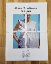 Load image into Gallery viewer, Alice Dress/Top Pattern by Tessuti Fabrics, Paper Pattern, Sewing Pattern, Tessuti Fabrics Pattern