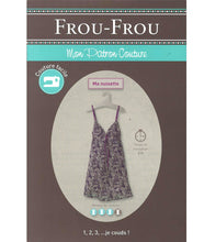 Load image into Gallery viewer, Frou-Frou Slipdress Pattern - Paper Pattern - Sewing Pattern - Frou-Frou Pattern - French Style - French Sewing Pattern