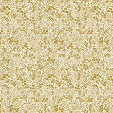 Load image into Gallery viewer, Rifle Paper Co. Basics - Tapestry Lace - Gold Metallic Fabric - Cotton + Steel fabric - Rifle Paper Co. Quilting Cotton