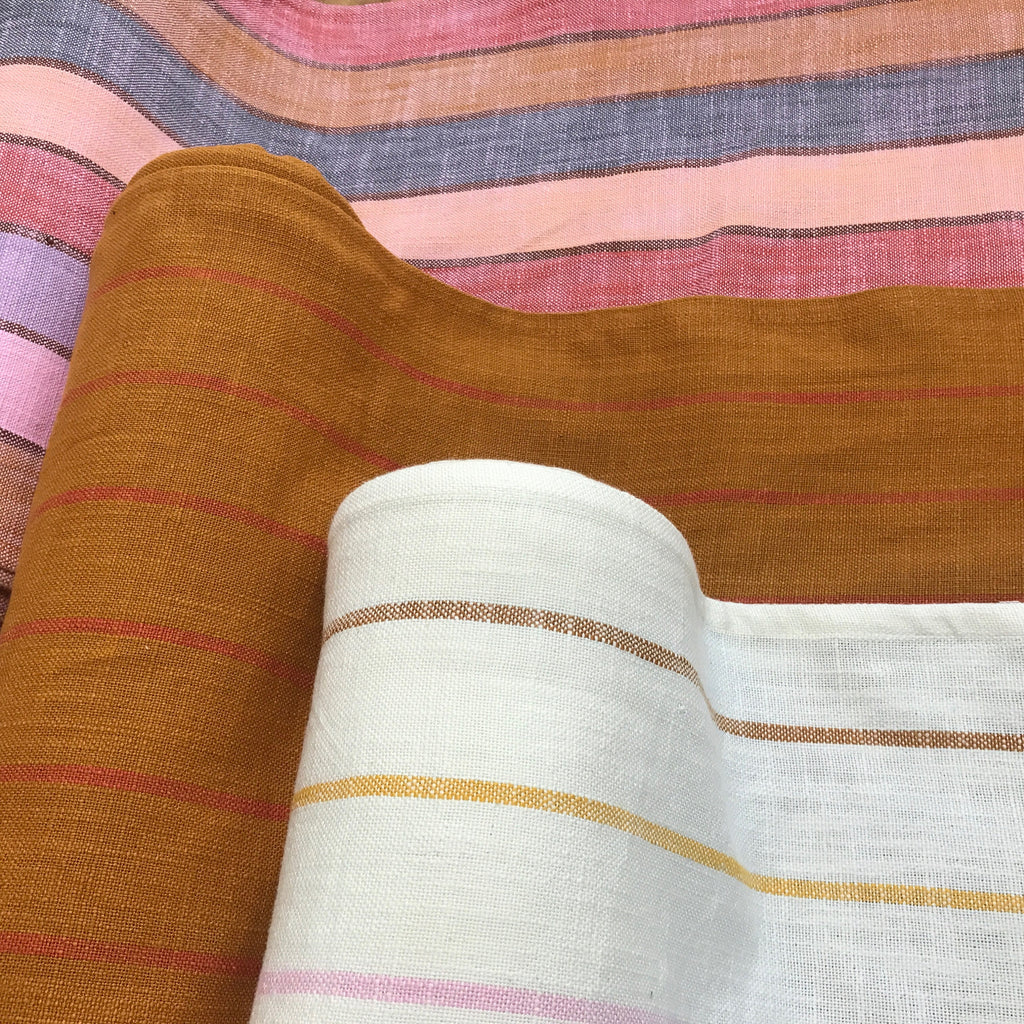 Chore Coat Toweling - Sunset - Ruby Star Society - Alexia Abegg - Moda Fabrics one yard fabric - hemmed woven toweling