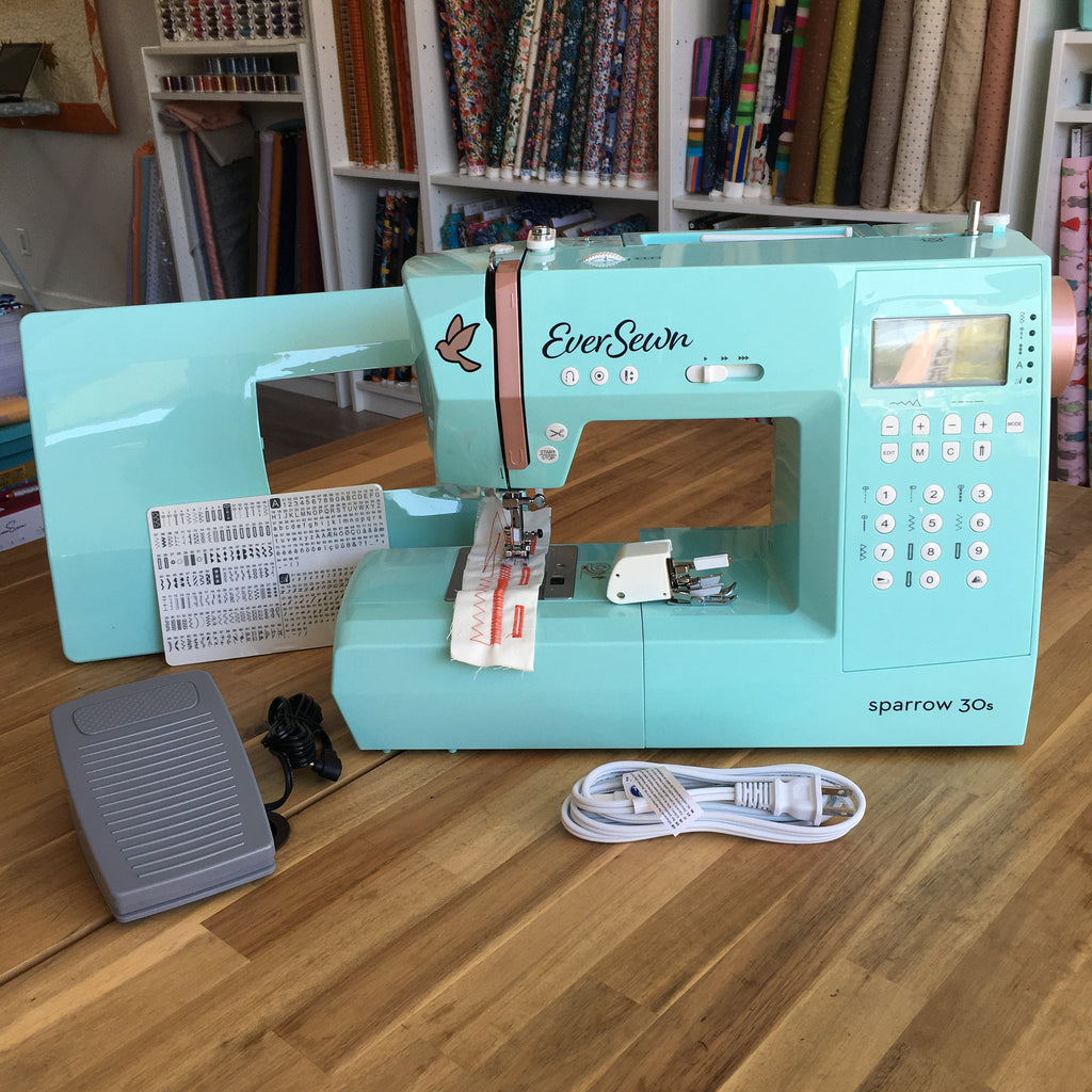 Eversewn Sparrow 30S - Computerized Sewing Machine - Zoom intro class included
