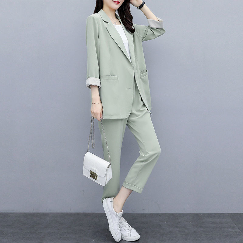 【50% OFF】 Korean Style Loose Fashion Two-piece Suit