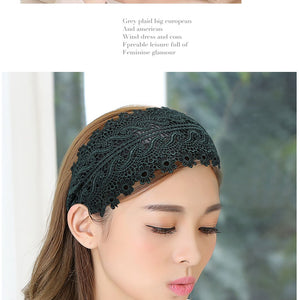 Two pieces♡Wide lace headband