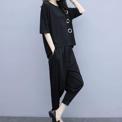 【50% OFF】2020 new fashion plus size casual sports suit