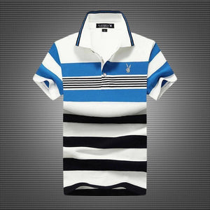 This Week 🔥🔥 3 Pcs Just ₱1699-Men's fashion striped polo shirt