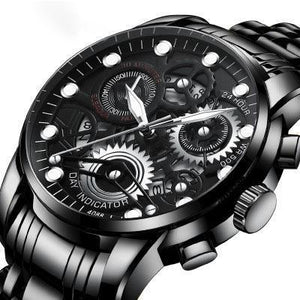 2020 Trendy hollow waterproof luminous watch