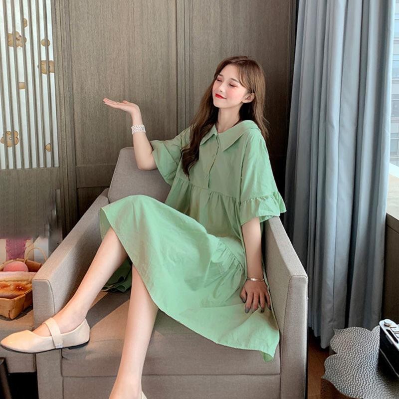 【50% OFF】(S-4XL) 2020 French style puff sleeve retro sweet dress