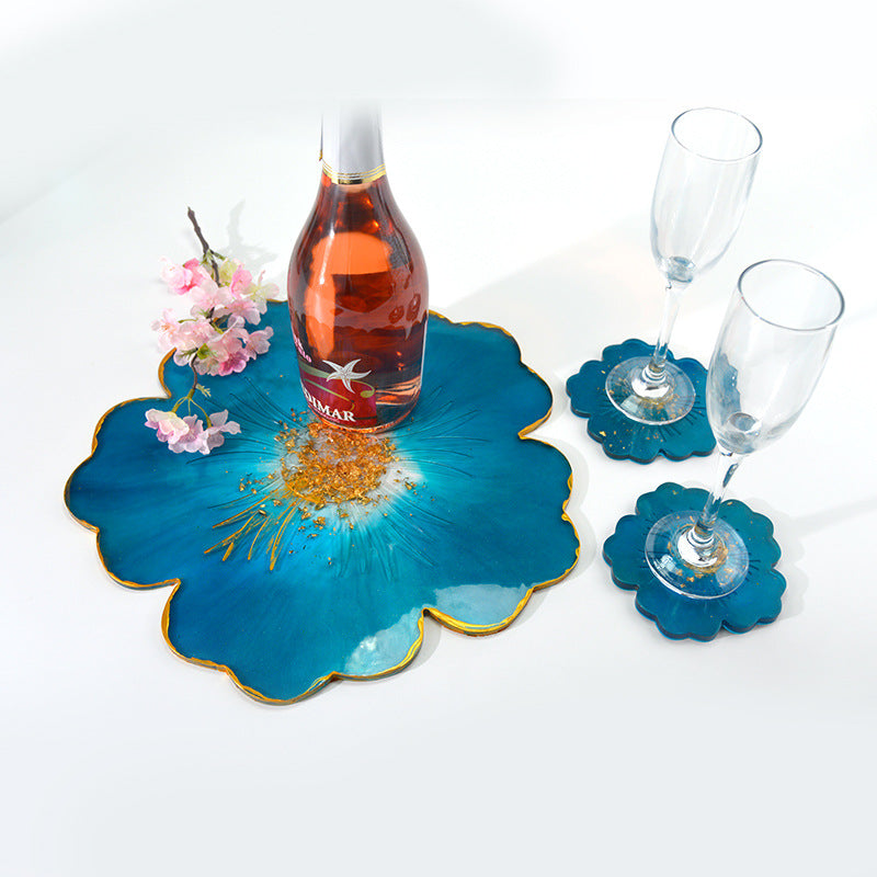 50% OFF♡Petal Silicone Tray Silicon Flower Coaster