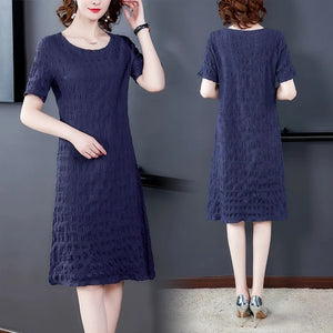 【Buy 1 free 1】2020 new pure cotton loose dress