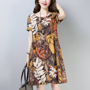 【50% OFF】Korean Style Ethnic Loose Dress