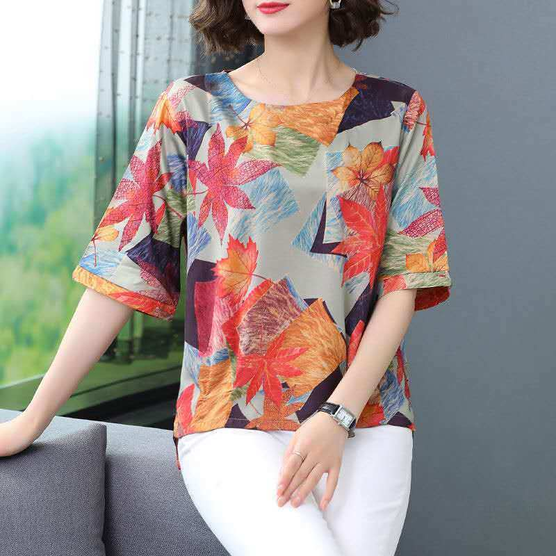 Buy 1 Free 1●Multi-color show elegance T-shirt