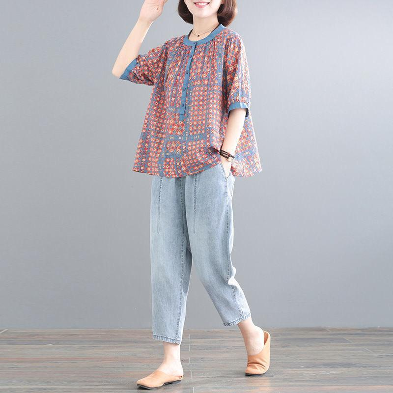 【50% OFF】2020 Japanese loose plus size casual fashion denim suit【M-3XL】