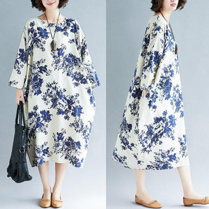 【Buy 1 free 1】2020 Japanese style ethnic style retro loose dress【M-5XL】