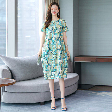 【50% OFF】Korean Style Temperament Cotton And Linen Dress