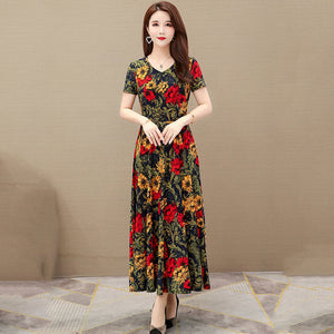 【Buy 1 Free 1】2020 New Cotton Printed Dress