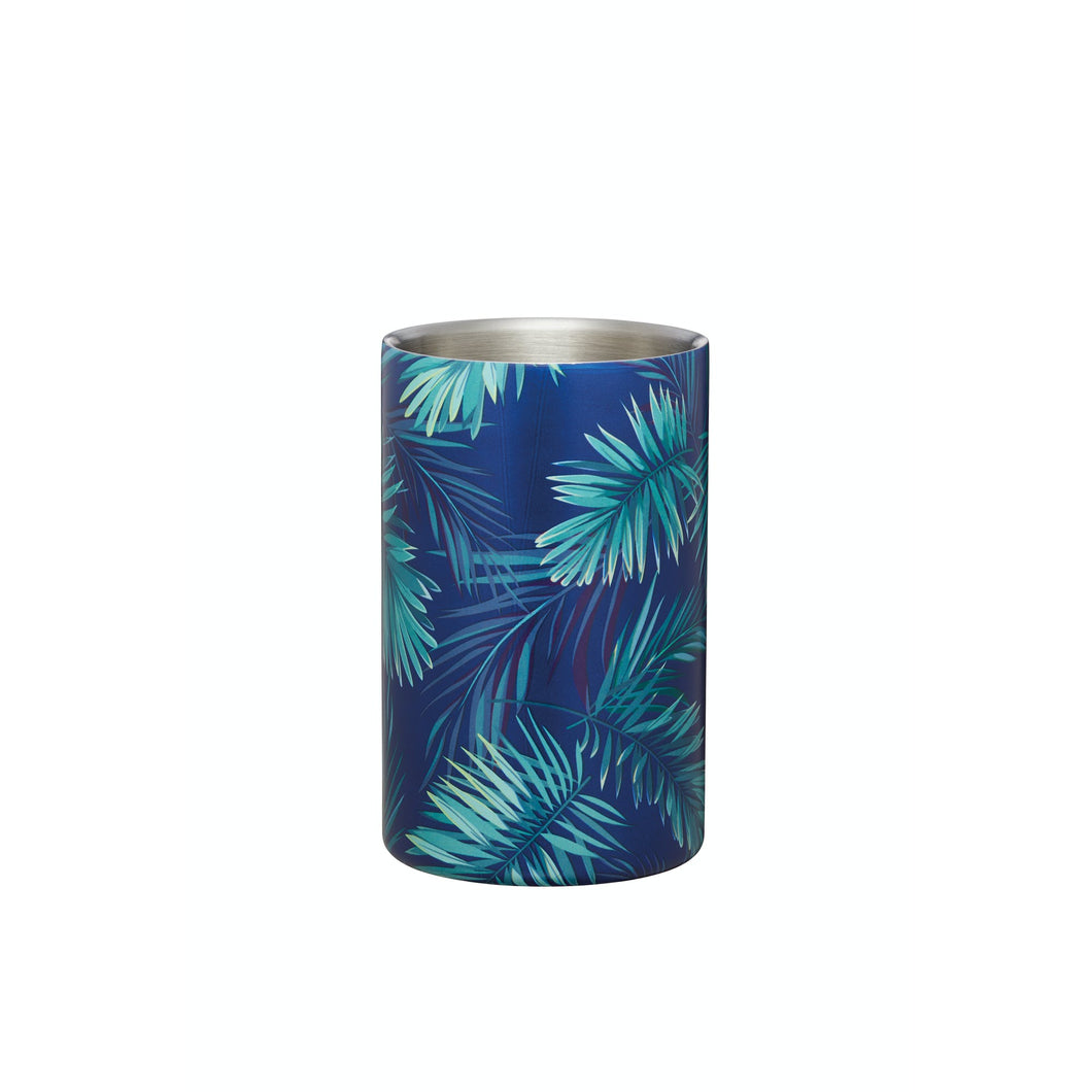 Palm Print Double Walled Wine Cooler
