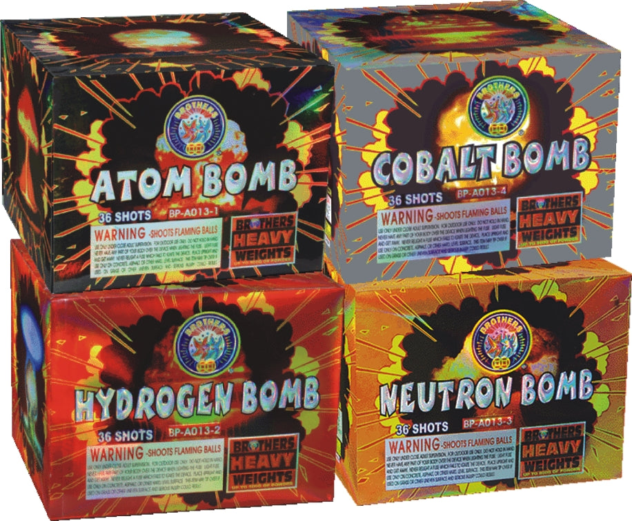 Da Big Box 'O Bombs - 36 shot