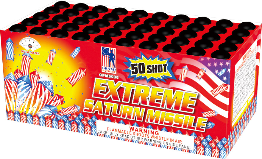 Saturn Missile Battery - 50 shot Extreme