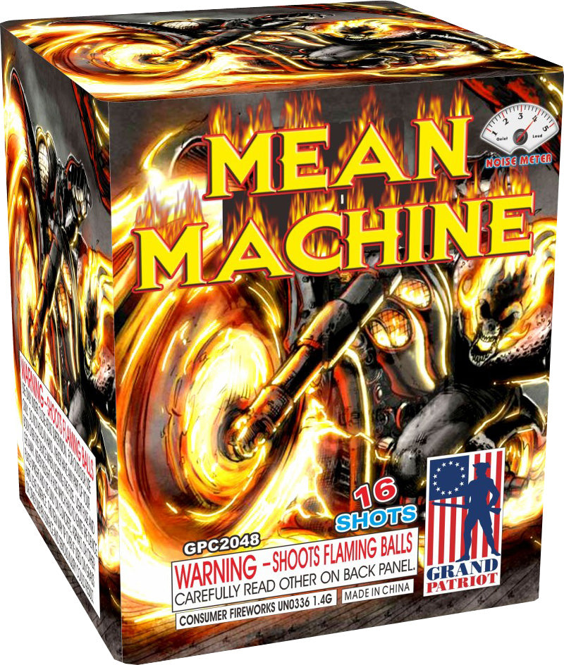 Mean Machine - 16 shot
