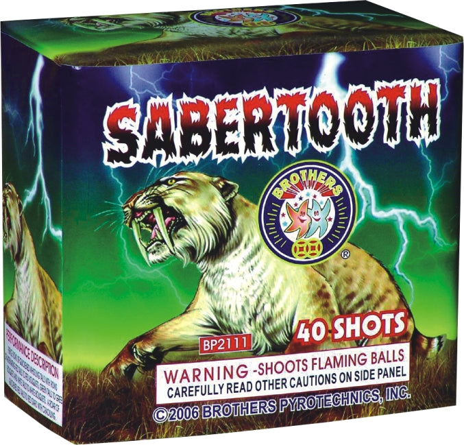 Sabertooth - 40 shot
