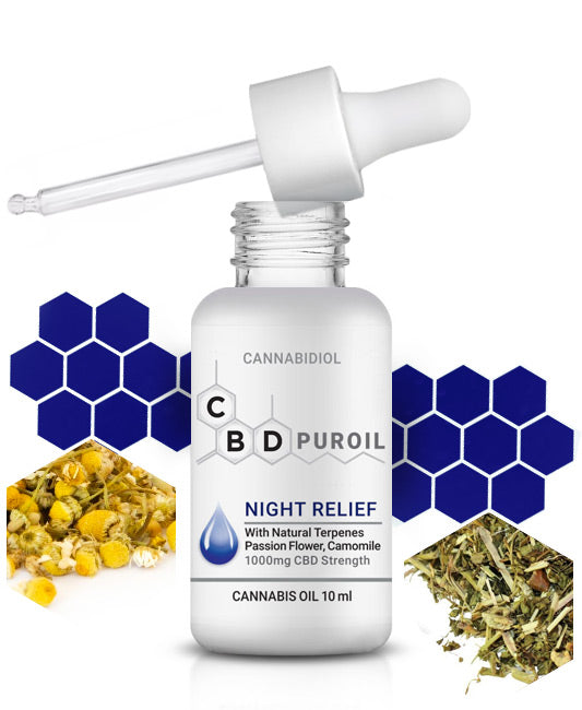CBD Puroil Night Relief for sleep and insomnia