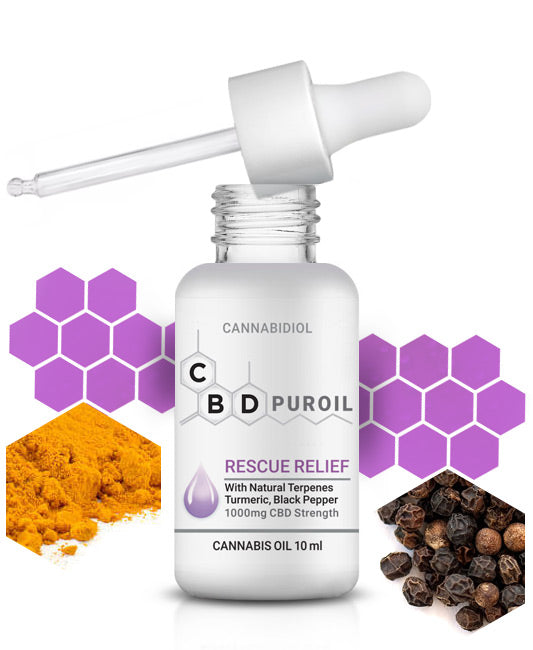 CBD Puroil Rescue-Relief for Pain and Inflammation
