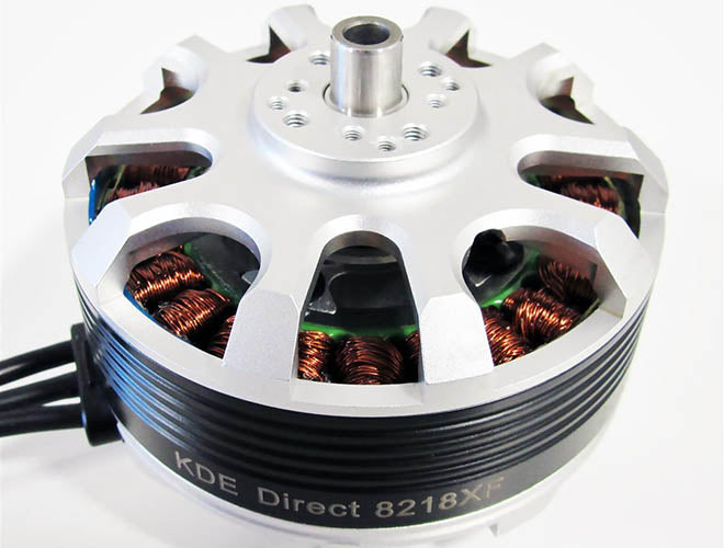 KDE Announces Powerful New Brushless Motor for Heavy Lift Drones
