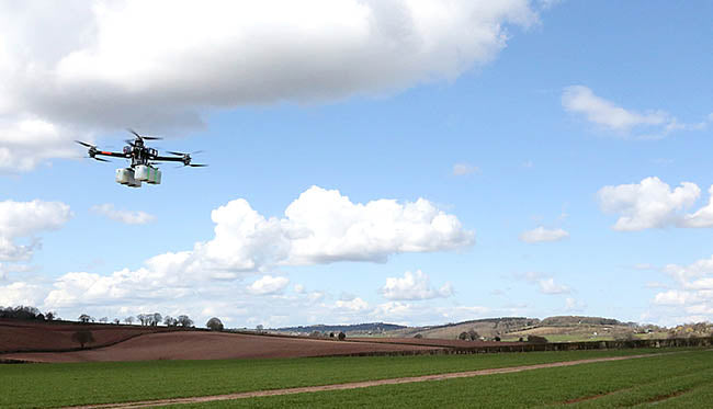 UAVs for agriculture