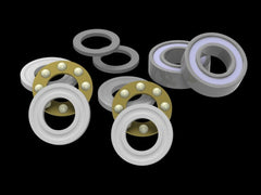 AT500-MBBBRK Bearing Replacement Kit for ALIGN T-Rex 500 Series Thrusted Metal Bearing Blocks