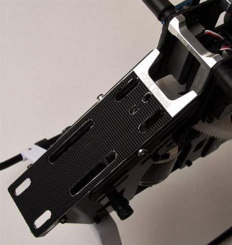 AT500P-BMU Battery Mount and Cross Brace for ALIGN T-Rex 500 Pro Electric Series Helicopters