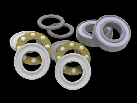 AT550/600-MBBBRK Bearing Replacement Kit for ALIGN T-Rex 550/600 Series Thrusted Metal Bearing Blocks