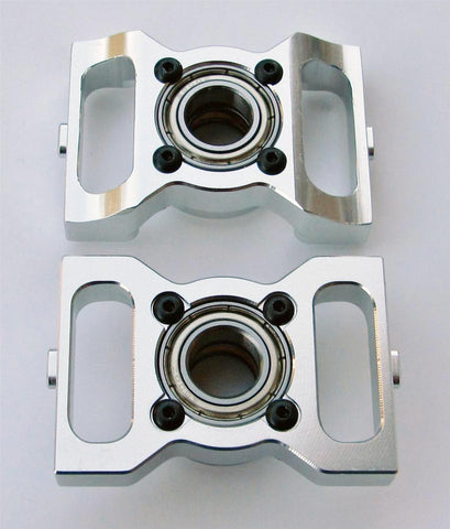 AT600-MBB-V2 Thrusted Metal Bearing Blocks V2 for ALIGN T-Rex 600 Electric Series Helicopters