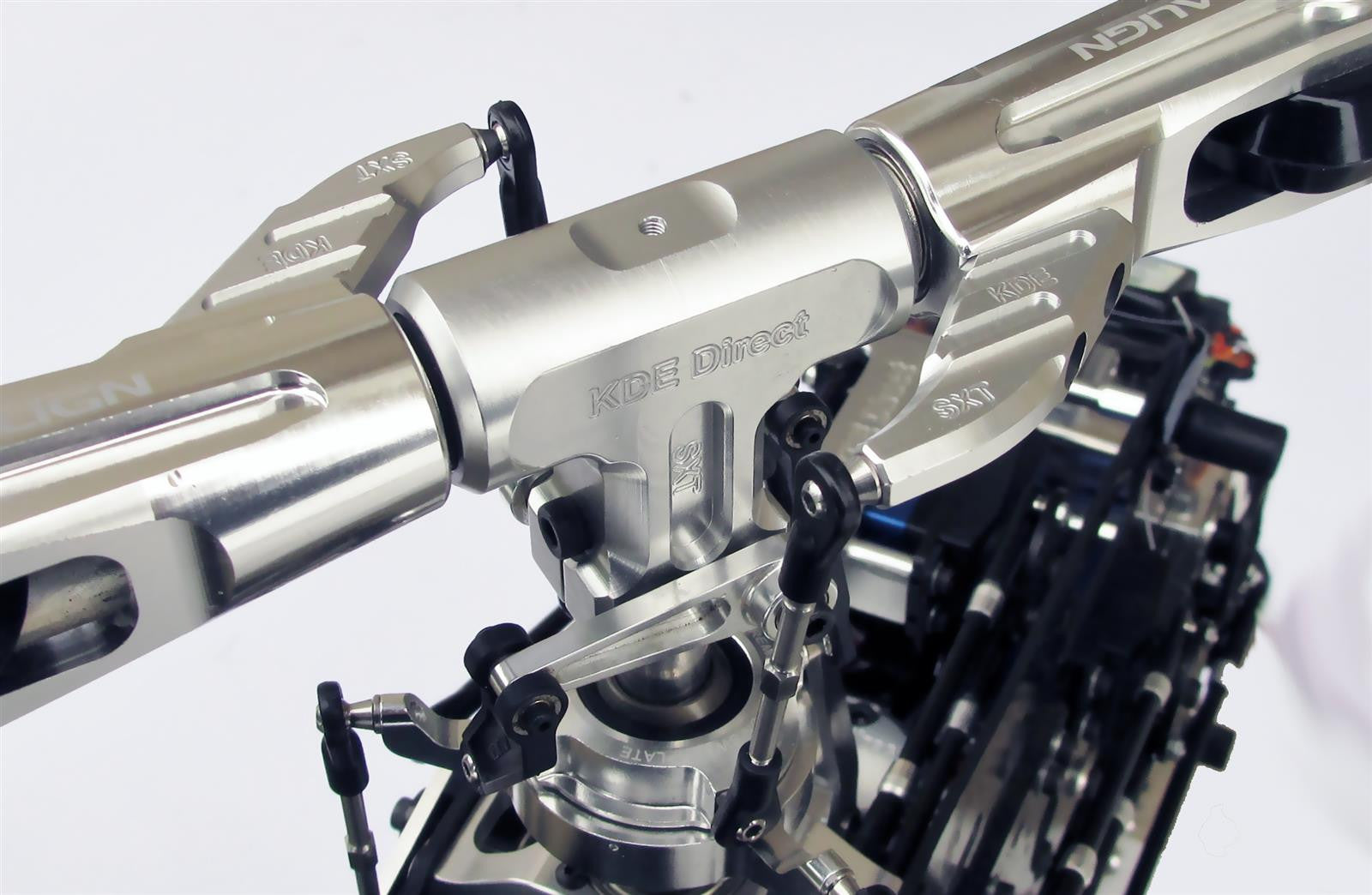 AT700-SXTS SXT Main Rotor Head System for ALIGN T-Rex 700/800 Series  Helicopters
