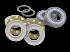 AT700-MBBBRK Bearing Replacement Kit for ALIGN T-Rex 700 Series Thrusted Metal Bearing Blocks
