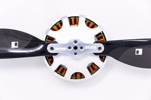 KDE-DPAHL-SP Heavy-Lift Propeller Blade Adapter (SP), Dual-Edition for Multi-Rotor (UAS) Series