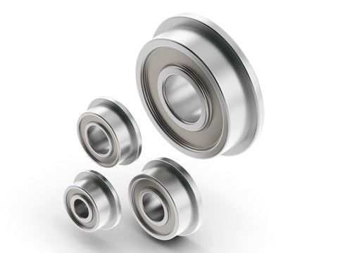 Flanged Radial Ball Bearing